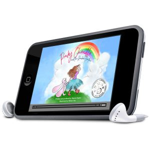Pinky Chenille MP3 Audio Book and MP4 Ipad Video Book Digital Downloads