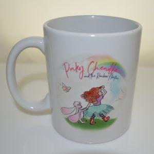 Pinky Chenille and the Rainbow Hunters 11oz mug